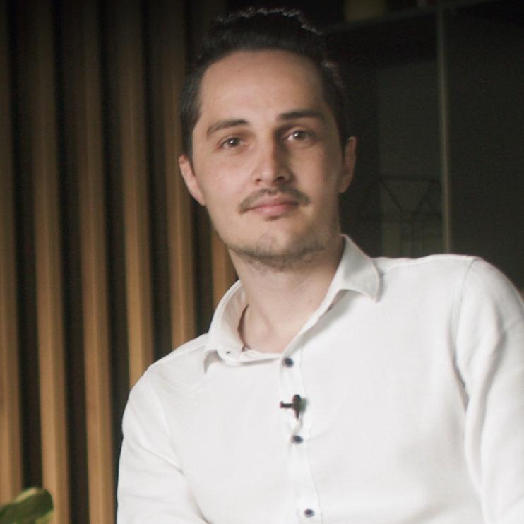 """Matei Stoian, Product owner, Business Intelligence: """"Cred că cel mai important pentru mine în momentul în care am făcut o schimbare a fost să am un obiectiv."""""""